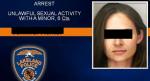 MIt Foto und vollem Namen wurde die Pädagogin von der Polizei im Internet an den Pranger gestellt. Sreenshot: Schwärzung durch die Redaktion