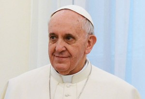 """""""Man kann nicht nur auf dem Gebiet der Sicherheit erziehen"""": Papst Franziskus vor Schülern und Lehrern. Foto: presidencia.gov.ar / Wikimedia Commons (CC BY-SA 2.0)"""