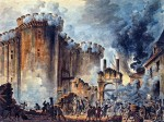 Sturm auf die Bastille, gemalt von Jean-Pierre Houël (1735-1813) - Bibliothèque nationale de France. (Scan von JaredZimmerman/Wikimedia)