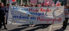 GEW und Elternvertreter: Streiks stellen Partnerschaft zwischen Erzieherinnen und Eltern auf harte Probe