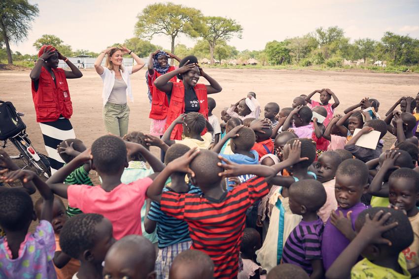 UN fordern von Weltgemeinschaft Hilfe für Flüchtlinge in Uganda