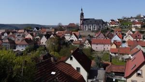 Hier ist die Welt offenbar noch in Ordnung: Retzbach im Landkreis Main-Spessart, der bundesweit die beste Bildung bietet.