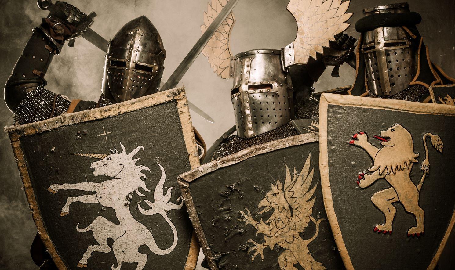 Seit - gefühlt - Hunderten von Jahren prügeln Gesamtschulgegner und -freunde in Deutschland aufeinander ein. Das Foto zeigt Ritterspiele anlässlich eines Jahrestages der Schlacht von Hastings 2008. Foto: faux_teak / flickr (CC BY-NC-SA 2.0)
