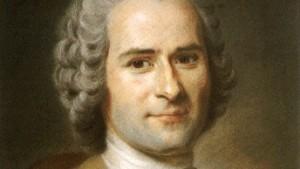 """Veredelung der Liebe durch Selbstverzicht"": der Philoloph Jean-Jacques Rousseau (1712 - 1788), Gemälde von Maurice Quentin de la Tour. Illustration: Wikimedia Commons"