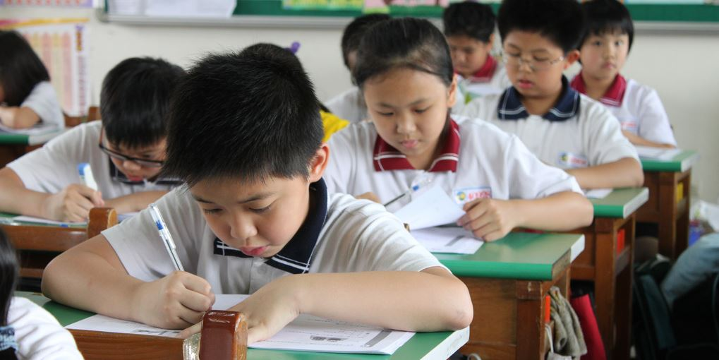 In Südkoreas Grundschulen ist die Welt der Mathematik noch in Ordnung. Bei uns weniger. Foto: Tuojia Elementary School (CC BY-NC-SA 2.0)