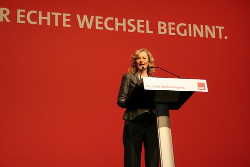 Nur gut anderthalb Jahre im Amt als baden-württembergische Kultusministerin:  Gabriele Warminski-Leitheußer. Foto: SPD Baden-Württemberg / Flickr