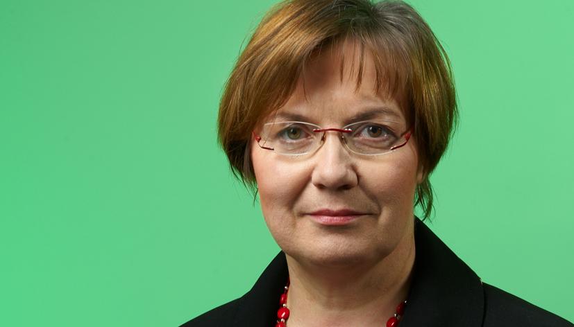 """Sabine Gerold von der GEW Sachsen sagt: """"Fette Jahre hat es nie gegeben."""" Foto: GEW Sachsen"""