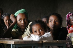 Kinderrechte müssen auf der ganzen Welt verteidigt werden - hier Schule in Äthiopien. (Foto: KIndernothilfe/Christian Hermanny)