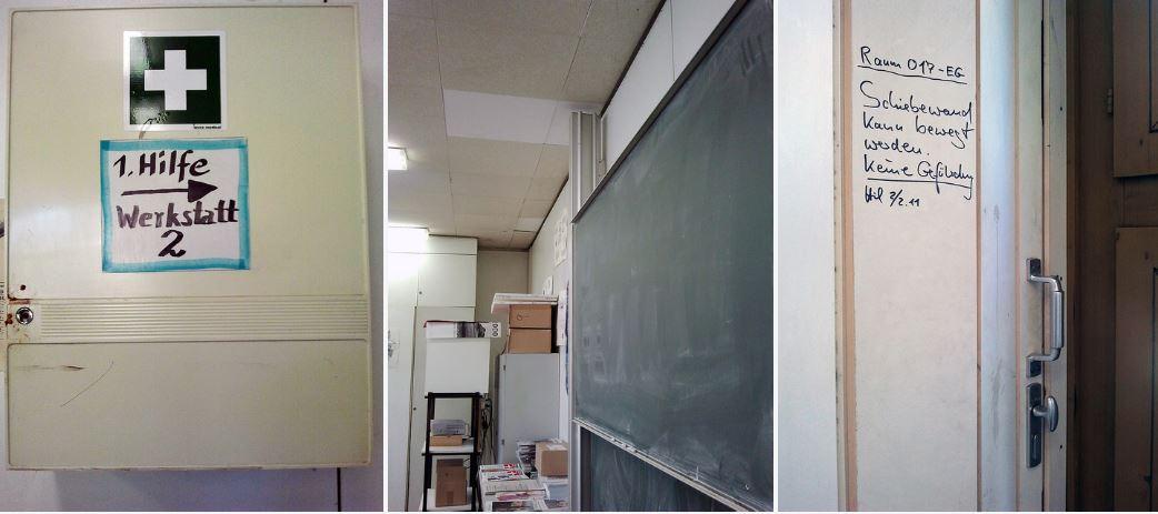 Marode Schulgebäude in Berlin, von den Grünen 2011 dokumentiert. Foto: Grüne Berlin / flickr (CC BY-SA 2.0)