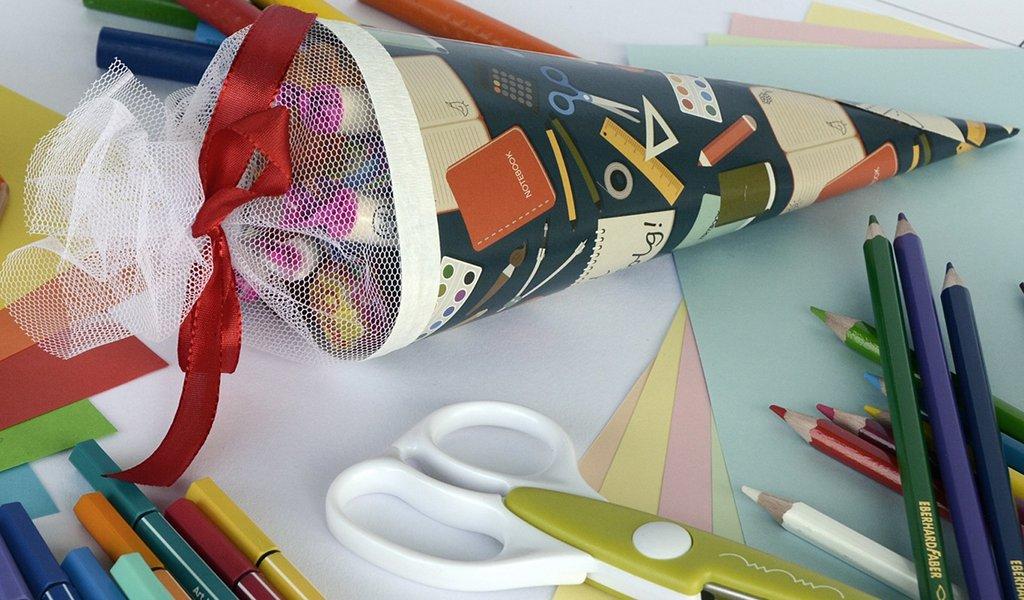 5,1 Millionen Schultüten kaufen Eltern pro Jahr  – fast alle werden in Sachsen produziert