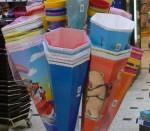 Schultüten im Laden