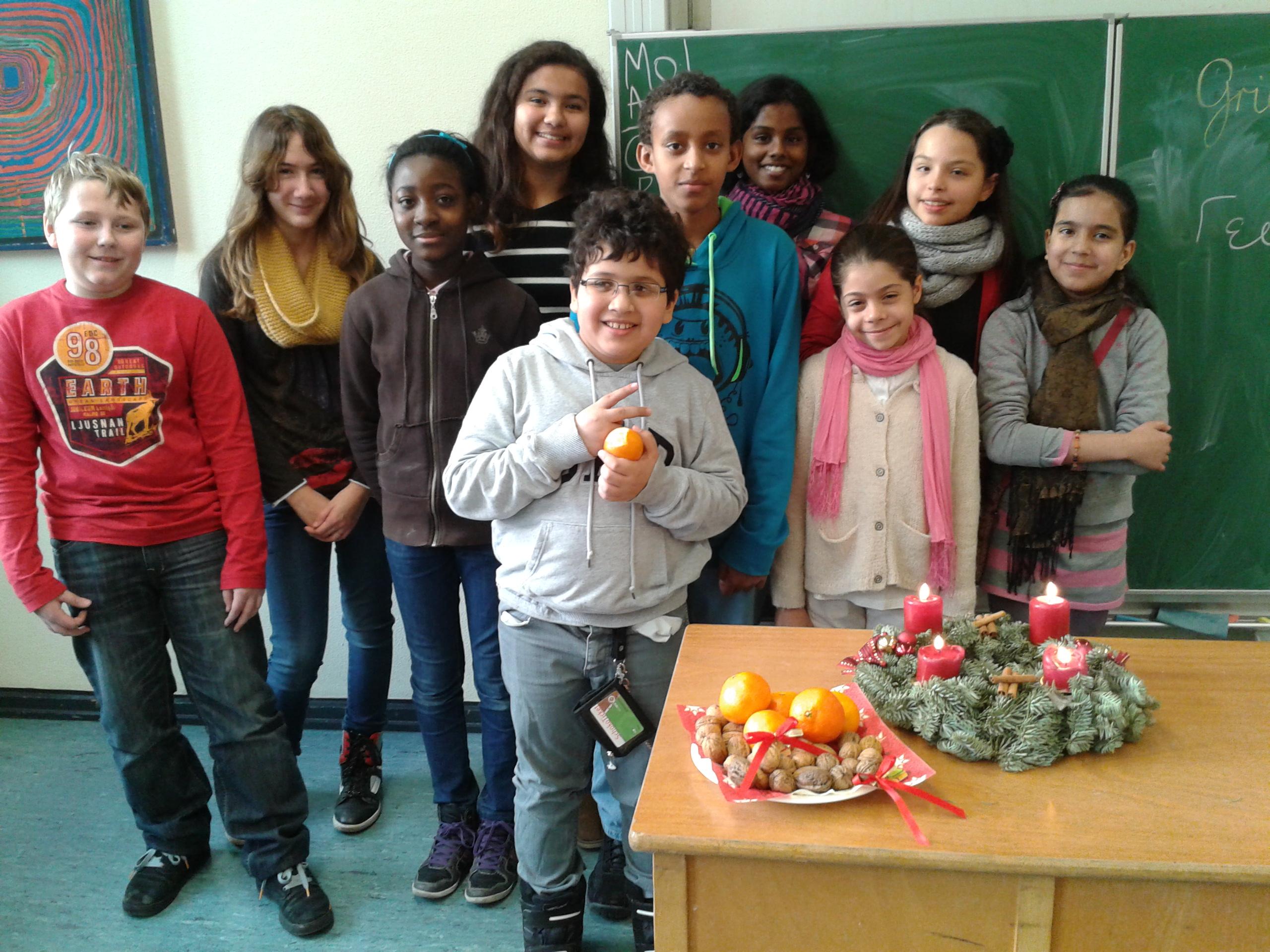 Die Seiteneinsteiger -Klasse in Essen. (Foto: privat)