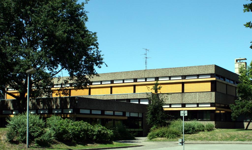 Foto vom Eingangsbereich der Stemweder-Berg-Schule