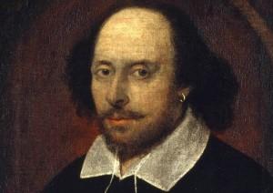 Möglicherweise ein zeitgenössisches Porträt von Shakespeare (historisch nicht gesichert). Foto: Wikimedia Commons