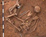 """Ist das Deutschlands ältestes Mordopfer? Das fragt sich die """"Bild""""-Zeitung. Foto: Landesarchäologie Speyer"""