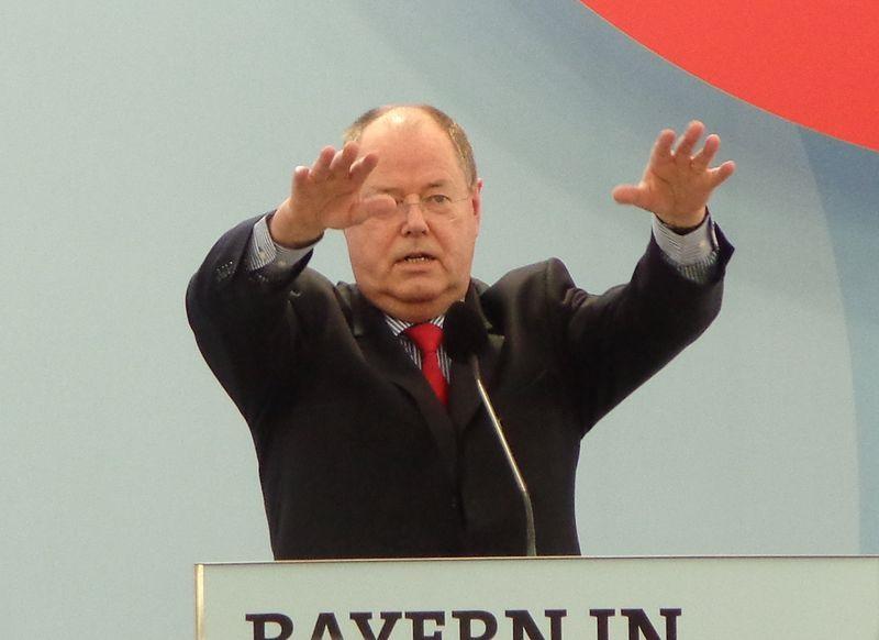 Setzt im Wahlkampf auf das Thema Bildung: SPD-Kanzlerkandidat Peer Steinbrück. Foto. High Contrast / Wikimedia Commons (CC BY 3.0 DE)