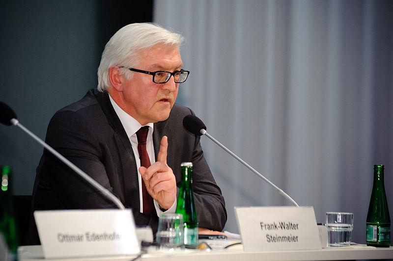 Wird den Gewinner des Deutschen Schulpreises küren: Frank-Walter Steinmeier. Foto: Stephan Roehl / Heinrich-Böll-Stiftung / Wikimedia Commons (CC BY-SA 2.0)