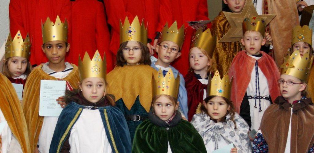 In Aktion: die heiligen drei, äh, zehn Könige. Foto: Stadt Troisdorf / flickr (CC BY 2.0)