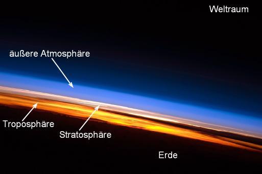 Über den (meisten) Wolken: die Stratosphäre. Foto: Gunnar Ries / flickr (CC BY-SA 2.0)