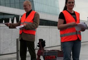 Beamte dürfen nicht streiken. Rund 170 beamtete Lehrer in Rheinland-Pfalz erhalten nun einen Eintrag in ihre Personalakte. Foto: von GGAADD /flickr (CC BY-SA 2.0)