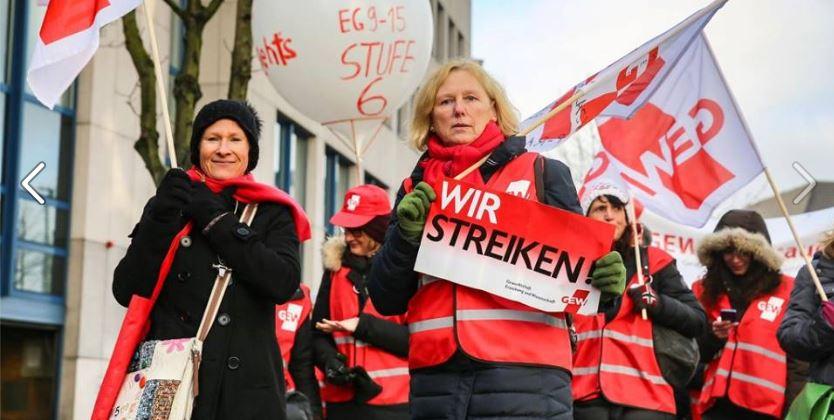 Auch in Nordrhein-Westfalen streikten in dieser Woche zahlreiche Lehrkräfte. Foto: GEW NRW