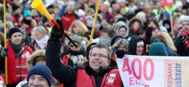 Länder-Tarifstreit: Finanzminister argumentiert mit Donald Trump, um Gewerkschaften herunter zu handeln
