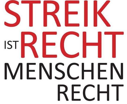 Mit diesem Slogan warb die GEW für den Streik unter verbeamteten Lehrern. Screenshot