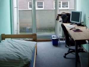 Begehrt und knapp: Ein Zimmer im Studentenwohnheim. Foto: heipei /flickr (CC BY-SA 2.0)