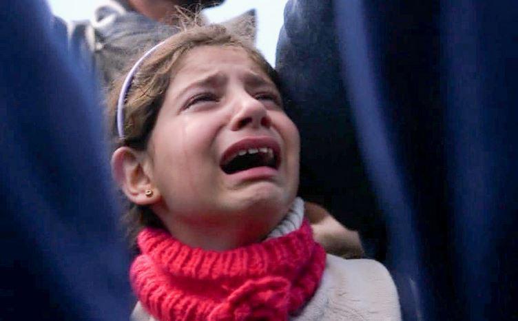 Syrisches Mädchen in Ungarn, das mit seiner Familie abgewiesen worden ist. Foto: Freedom house / tiny.cc/SyriaFreedom / flickr