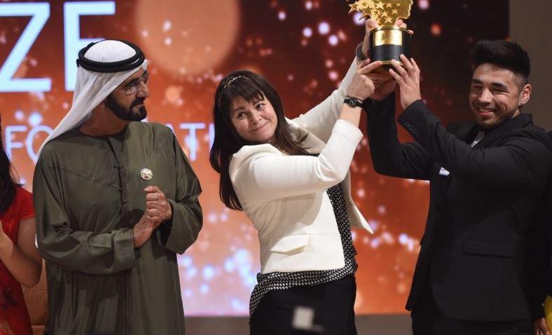 Der Preis ist mit einer Million Dollar dotiert, höher als der Literaturnnobelpreis. Foto: Global Teacher Prize.