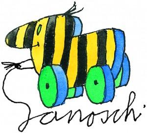 Die Tigerente ist wohl die berühmteste Erfindung Janoschs. (Illustration: janosch_film_medien_AG)