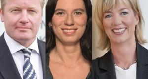 Von links: Bernd Althusmann (CDU), Sandra Scheeres (SPD) und Doris Ahnen (SPD).Foto links: Kultusministerium Niedersachsen, Foto Mitte: Senatsverwaltung für Bildung Berlin, oto rechts: Marc Bleicher / Wikimedia Commons (CC BY-SA 3.0)