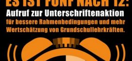 VBE macht jetzt mobil: Online-Petition soll Gebauer dazu bringen, die Grundschulen besser zu unterstützen