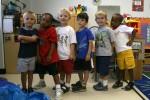 Vor dem Sprung: Kita-Kinder vor der Einschulung.