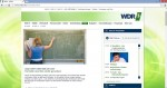 WDR 5. Screenshot von www.wdr5.de/nrw/index.html