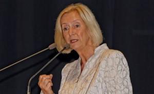 """""""Integration durch Bildung wird in den nächsten Jahren zum Schwerpunkt von Politik werden müssen"""", so Bildungsministerin Johanna Wanka. Foto: Andreas Hiekel / Wikimedia Commons (CC BY-SA 4.0)"""
