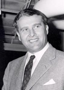 Der Raketentechniker WerHner von Braun ist eine umstrittene Figur. (Foto: Nasa/public domain)