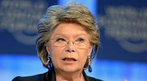 Viviane Reding ist seit 1999 Mitglied der EU-Kommission. (Foto: World Economic Forum/Wikimedia CC BY-SA 2.0)  )