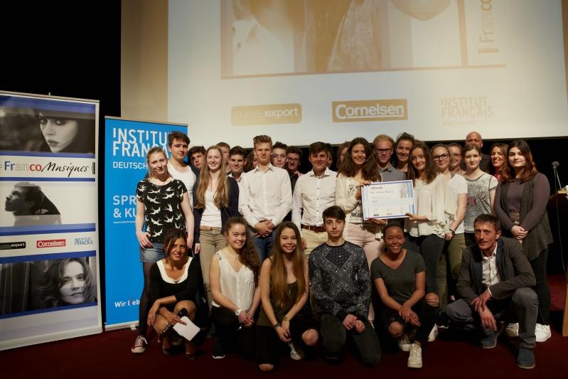 Preisverleihung FrancoMusiques am 09.06.16 in Berlin, Französische Botschaft. Foto: Cornelsen