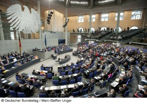 Wer hier im Plenarsaal zukünftig entscheiden wird, ist noch unklar. (Foto: Deutscher Bundestag/Marc-Steffen Unger)