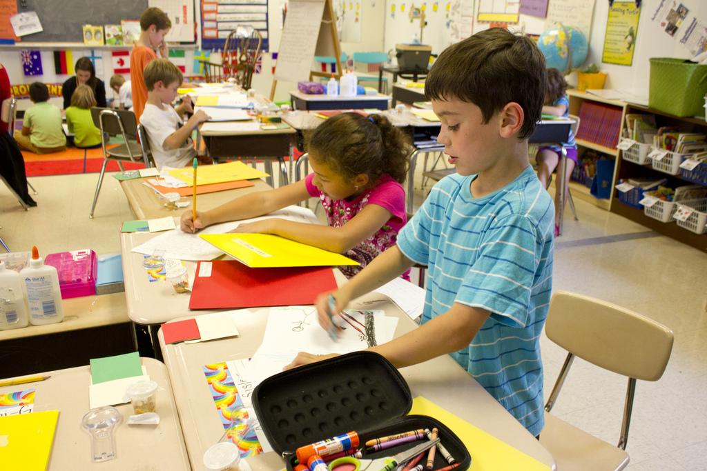 Ganztagsangebote unterstützen vorwiegend die Persönlichkeitsentwicklung von Kindern, wenn sie pädagogisch gut gemacht sind. (Foto: Woodley wonderworks/Flickr CC BY 2.0)
