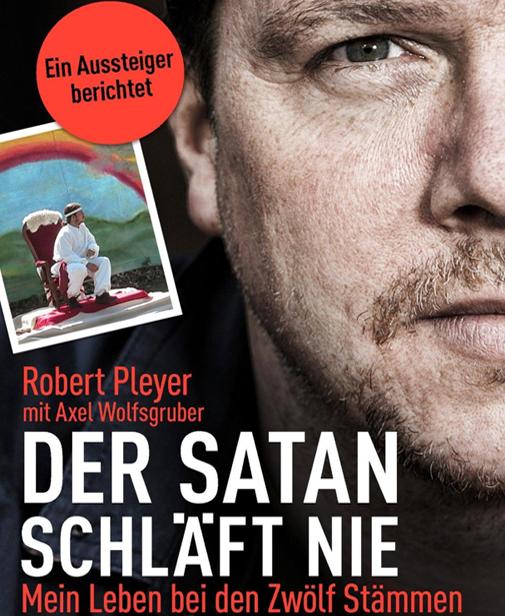 """Sichern Sie sich """"Der Satan schläft nie"""" von Robert Pleyer und schreiben sie uns Ihre Meinung. Bild: PR"""