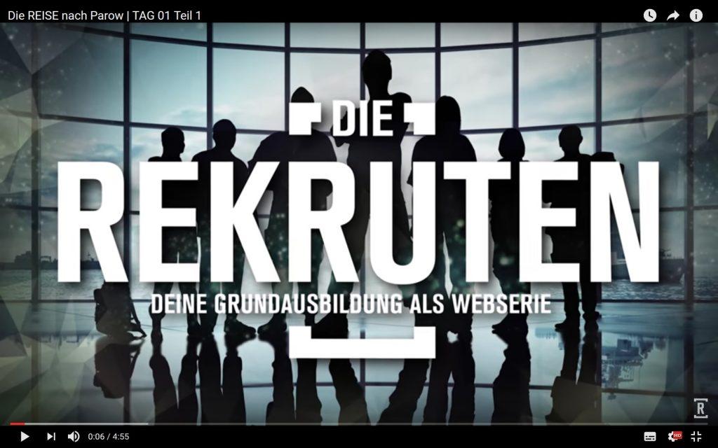 Seit dem 1. November läuft die Werbe-Serie der Bundeswehr auf youtube.de.