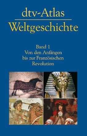 Gilt als Standardwerk zur Geschichte: der dtv-Atlas. Cover: dtv