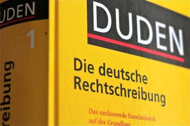 Panscht der Duden - oder bildet er nur die aktuelle Sprachentwicklung ab? Foto: Wikimedia Commons / Tornesol (CC BY-SA 3.0)