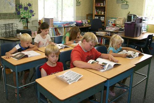 Einklassenschulen, wie hier in Nevada/USA, kann es zukünftig häufiger geben. (Foto: MarketingMan12/Wikimedia gemeinfrei)