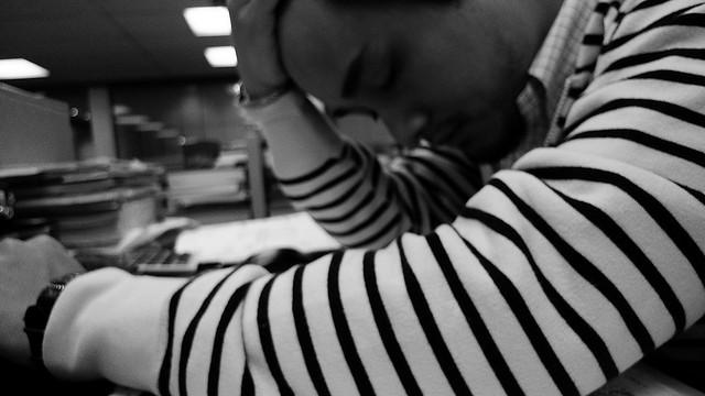 Frustration und Erschöpfung ist wohl jedem Lehrer nicht fremd. (Foto: Flickr/ Marvin Lee CC BY 2.0)