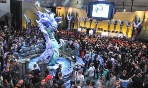 """Der Stand des Videospiels """"league of legends"""" auf der Gamescom 2014. (Foto: Kölnmesse)"""