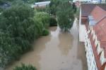 Bis zu den Fensterbänken stand das Wasser in der Schule. (Foto: RS Meuselwitz)