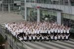 Die Mannschaft aus 83 Sportlern reist am 12. August zu den Spielen nach China. (Foto: Audi AG)